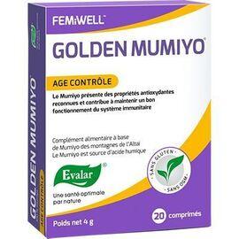 Golden mumiyo age contrôle 20 comprimés - evalar -226034