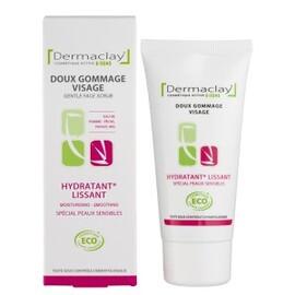 Gommage visage hydratant lissant - 50.0 ml - les gommages et masques - dermaclay Peau lisse, douce et souple-6064