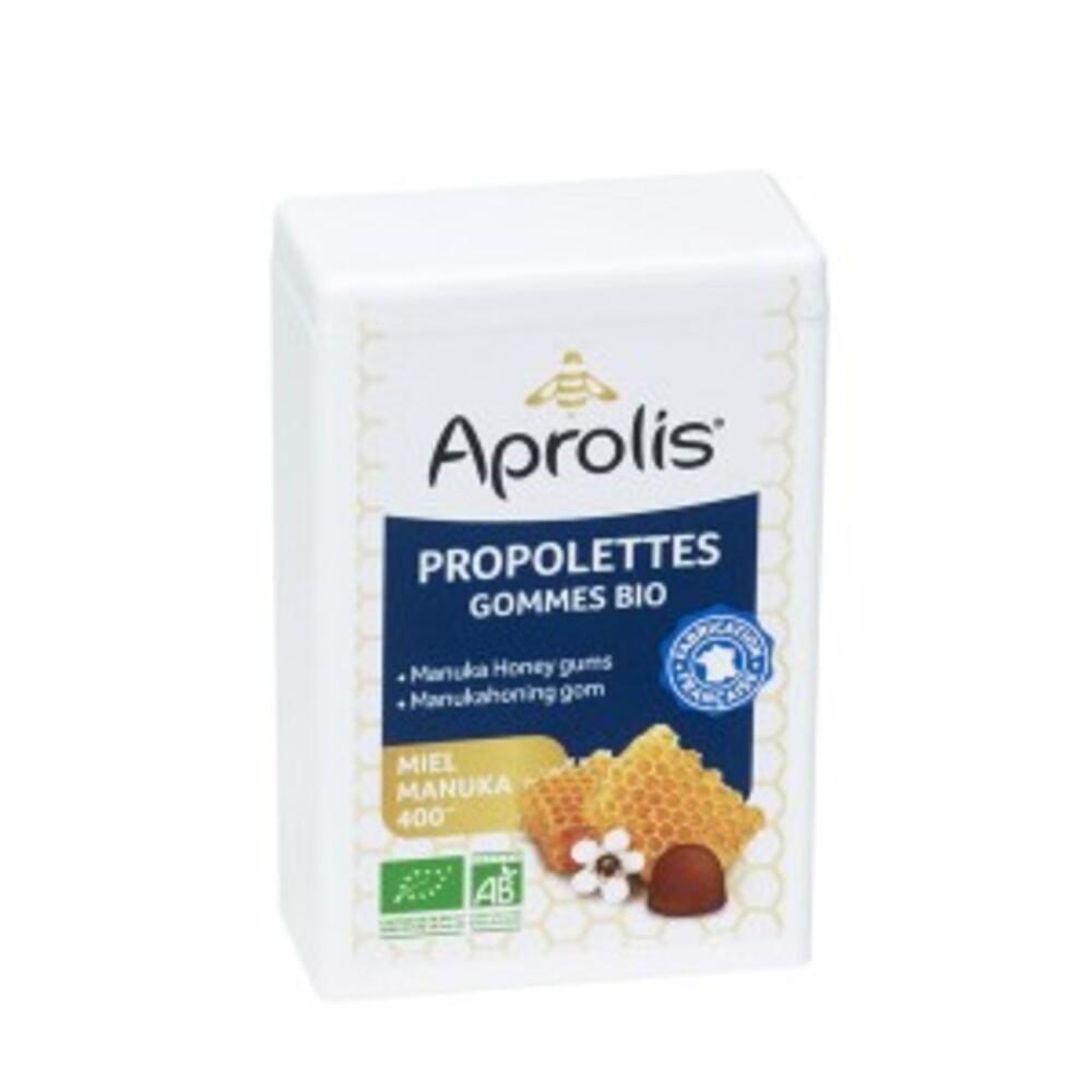 Gommes bio propolettes manuka - 50 g - divers - aprolis -141605