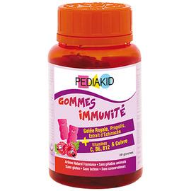 Gommes immunité - 60 oursons - pediakid -205883