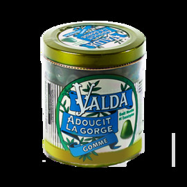 Gommes menthe avec sucre - 160.0 g - valda -191096