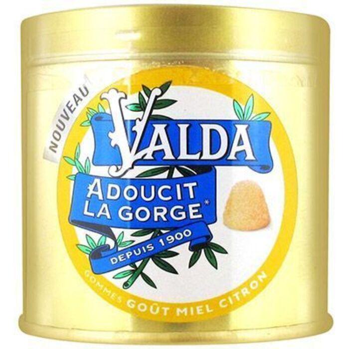 Gommes miel citron 50g Valda-223723