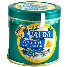 Gommes miel citron sans sucres 160g - valda -223720