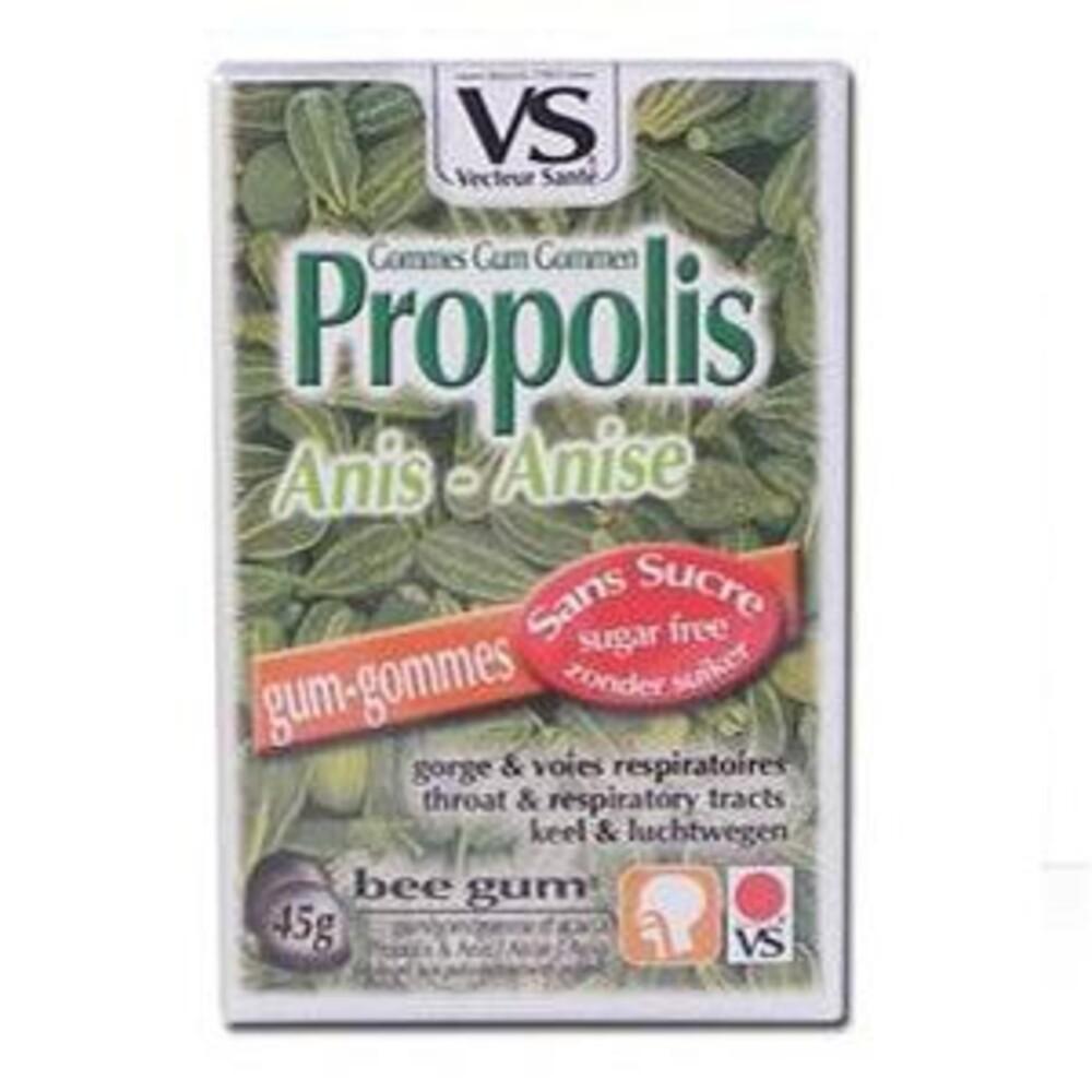 Gommes propolis anis bte 45 g sans sucre - divers - vecteur santé -138551