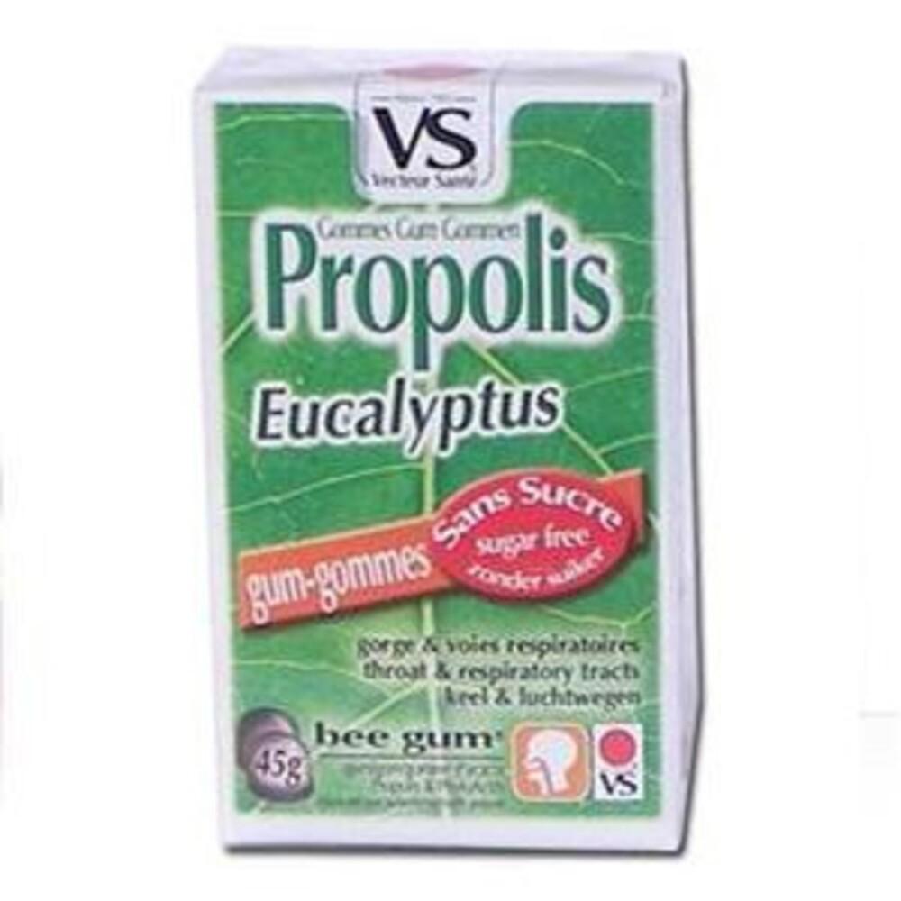 Gommes propolis eucalyptus bte 45 g sans sucre - divers - vecteur santé -138547