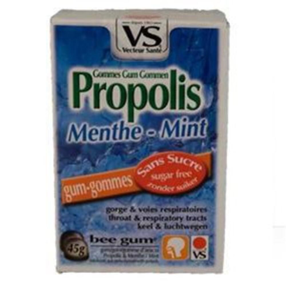 Gommes propolis menthe bte 45 g sans sucre - divers - vecteur santé -138549