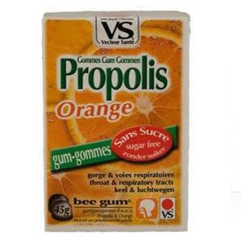Gommes propolis orange bte 45 g sans sucre - divers - vecteur santé -138550
