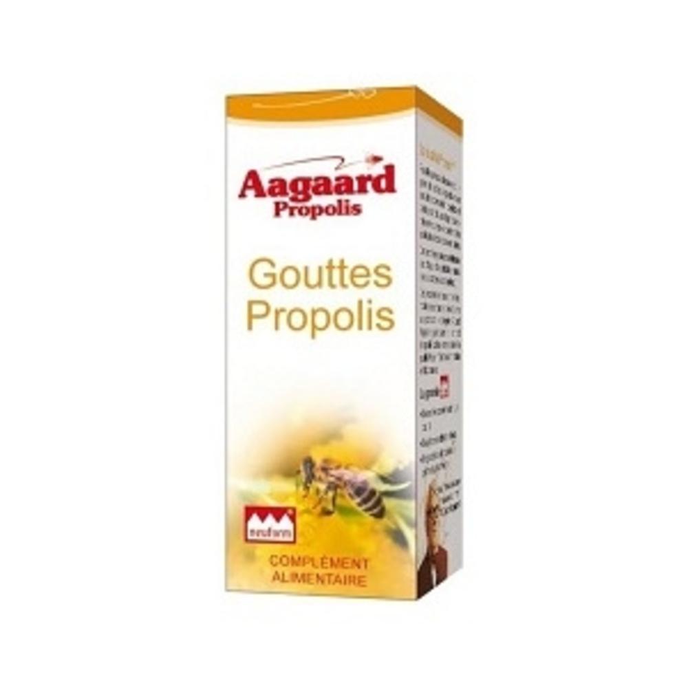 Gouttes 10% propolis - 15.0 ml - pratiques - aagaard propolis Vertus assainissantes-1062