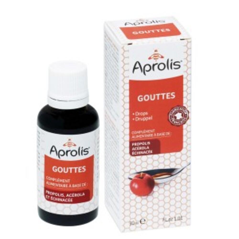Gouttes à la propolis - 30.0 ml - tonus et vitalité - aprolis -14815