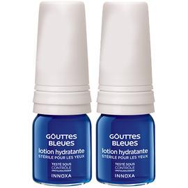 Gouttes bleues - lot de 2 - 10.0 ml - le soin des yeux haute tolérance - innoxa Soulager les yeux fatigués-3481