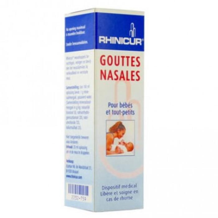 Gouttes nasales 20ml Rhinicur-214682