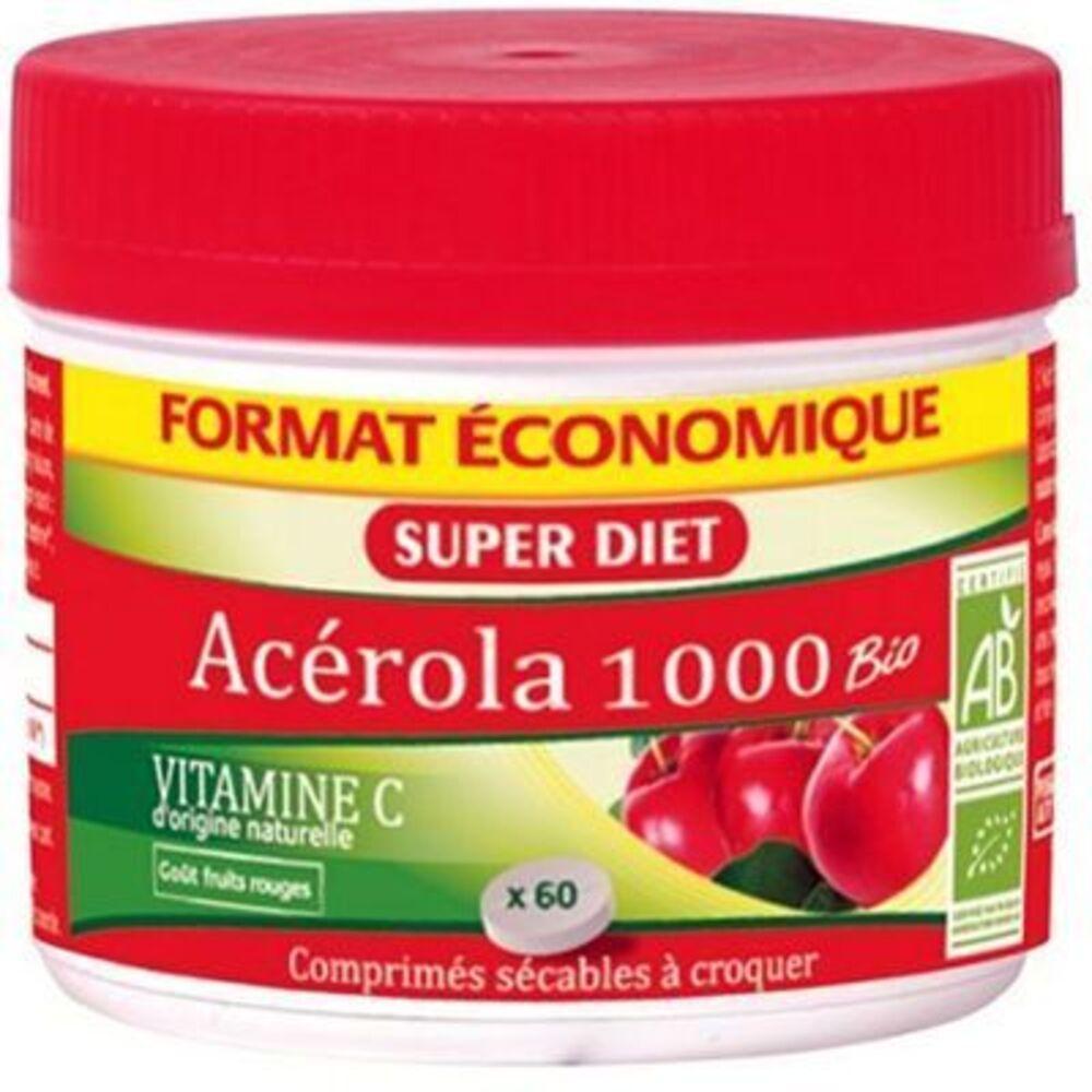 Govital acerol 1000 vitamine c 60 comprimés Urgo-223331