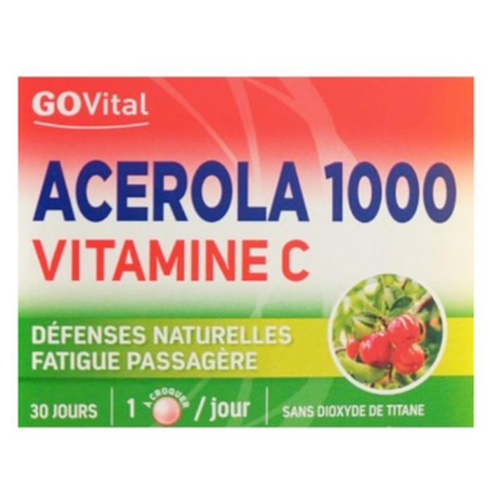 Govital acerola 1000 vitamine c Urgo-201018