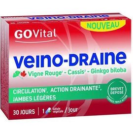 Govital veino-draine 30 gélules - urgo -220594