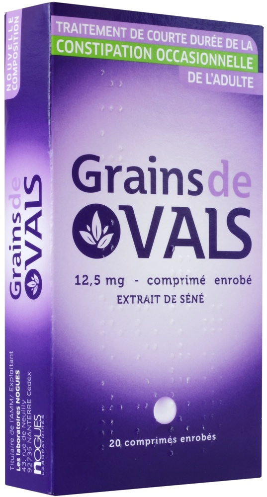Grains de vals 12,5 mg - 20 comprimés - nogues laboratoires -192610