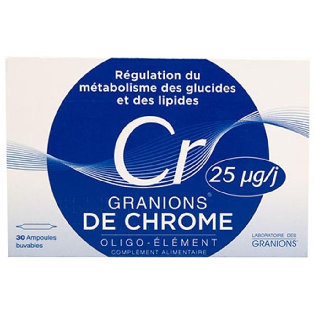 GRANIONS DE CHROME - 60.0 ML - Granions -147816