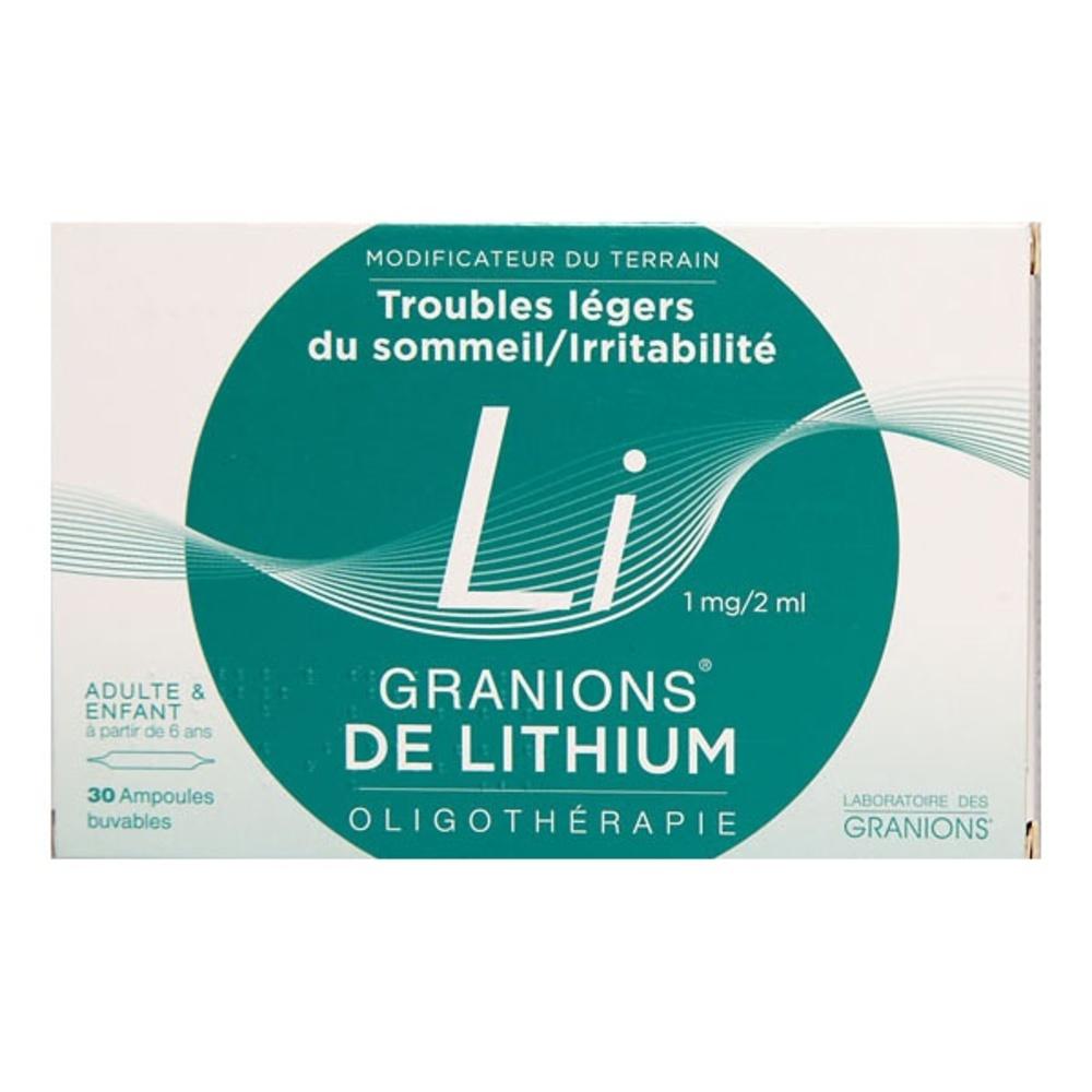Granions de lithium - ea pharma -206905