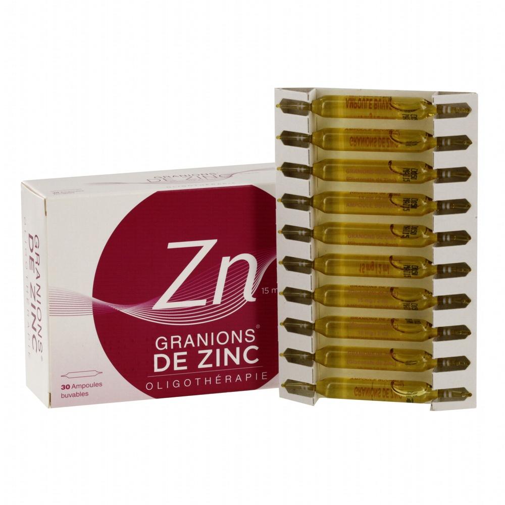 Granions de zinc - 30 ampoules x - 2.0 ml - ea pharma -193176