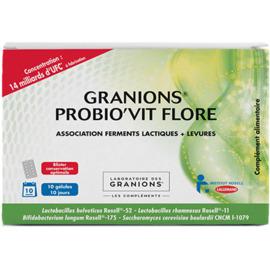 Granions probio'vit flore 10 gélules - granions -223808