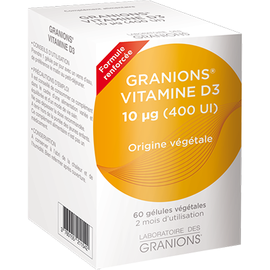 Granions vitamine d3 - 60 gélules végétales - granions -211131