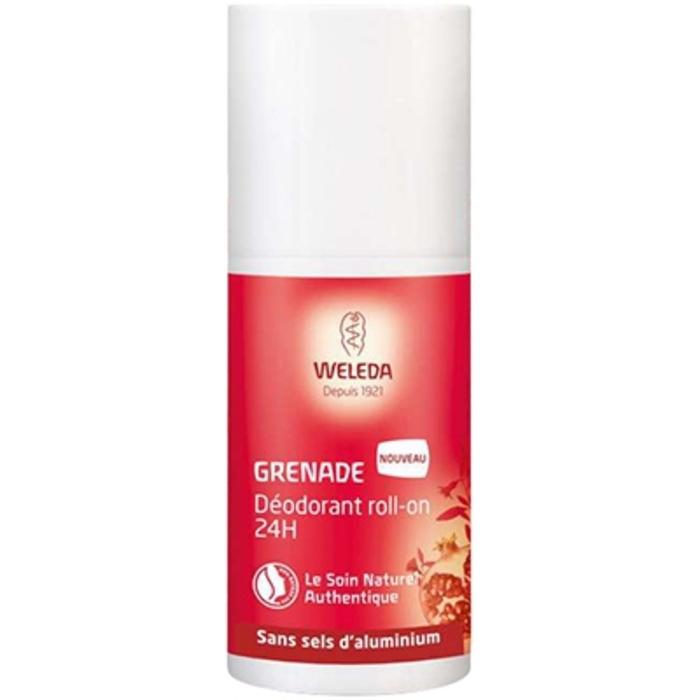 Grenade déodorant roll-on 24h 50ml Weleda-212822