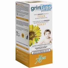 Grintuss pediatric toux sirop 210g - aboca -216581