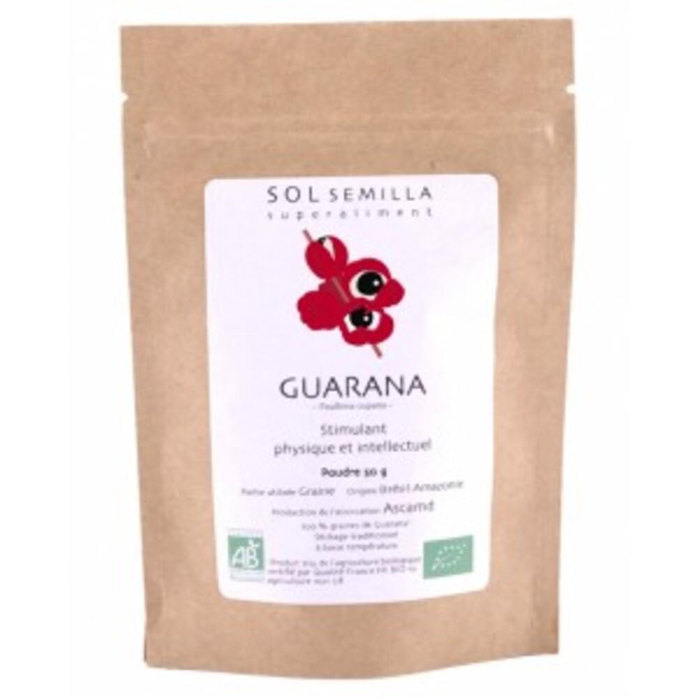 Guarana blanc poudre bio - 50 g - divers - sol semilla -142663