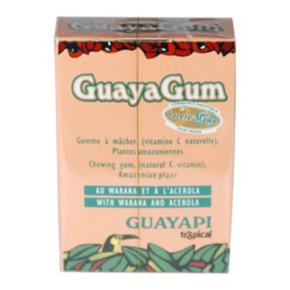 Guayagum Guarana / Acérola - Etuis 20 Dragées - divers - Guayapi  -136297