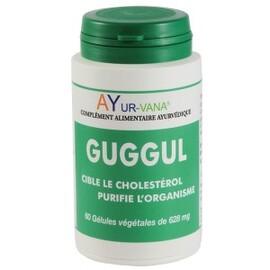 Guggul (commiphora mukul) - 60.0 unites - compléments alimentaires - ayur-vana Favorise l'amincissement-1403