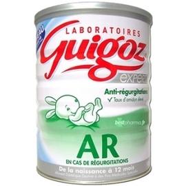 Guigoz expert ar 1 lait en poudre 0-6 mois 800g - guigoz -197545