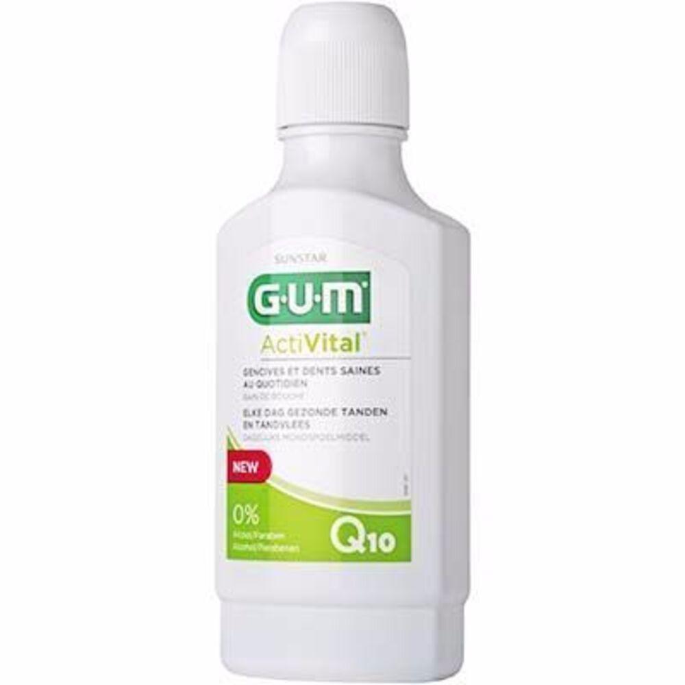 Gum activital bain de bouche 300ml Gum-216392