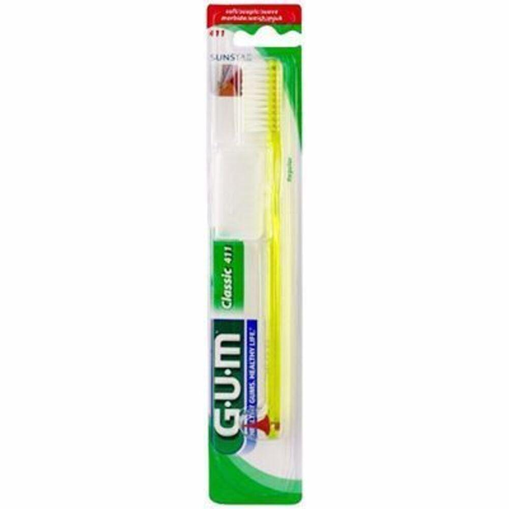 Gum classic 411 brosse à dents souple Gum-211988