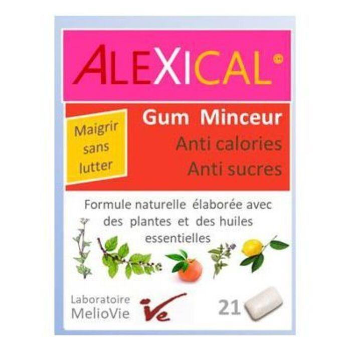 Gum minceur anti calories anti sucres x21 Alexical-221849
