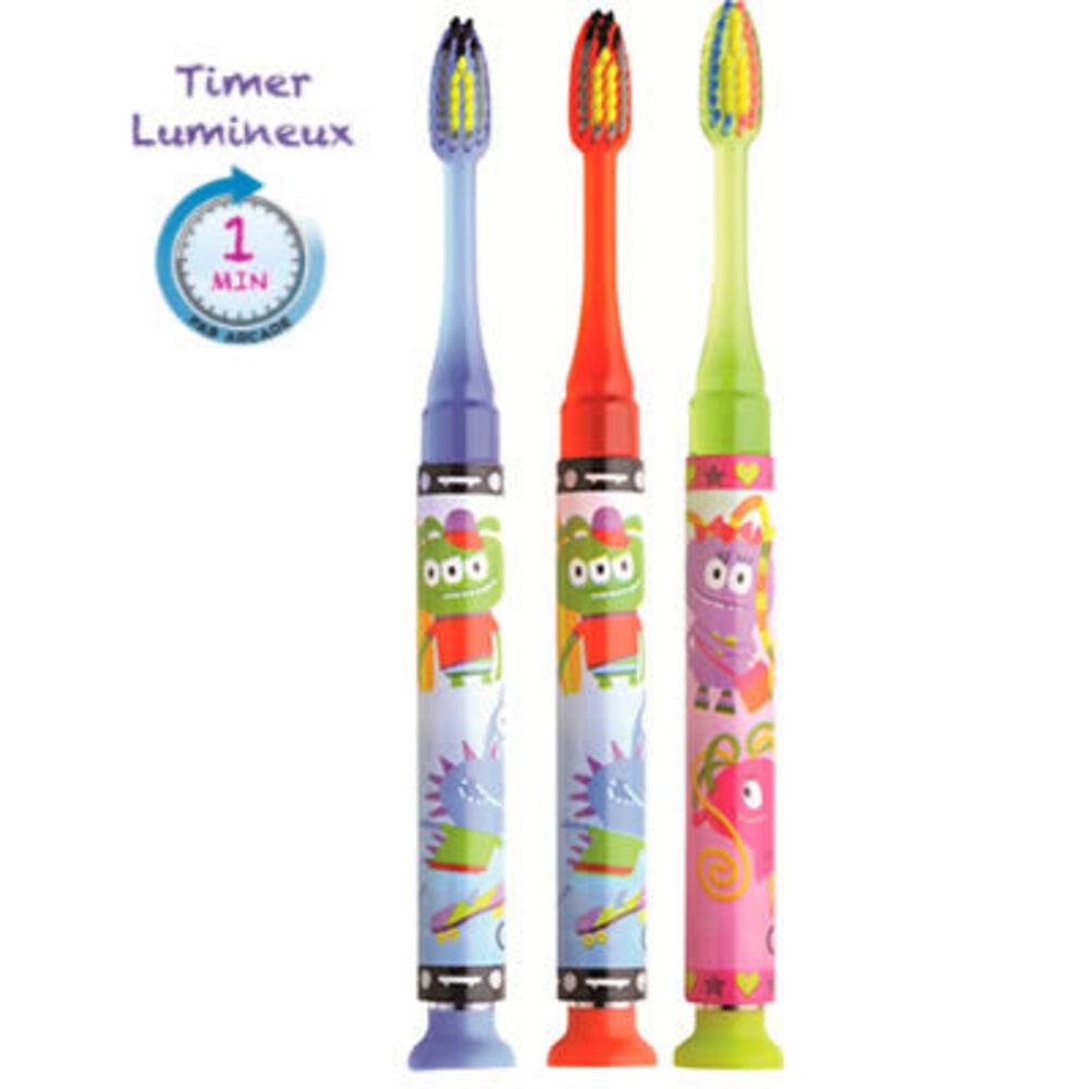 Gum timer light brosse à dents 7 ans et + souple garçon Gum-216435