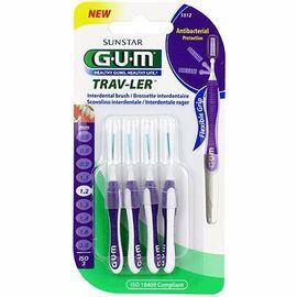 Gum travler brossettes interdentaires 1512 1,2mm x4 - gum -145972