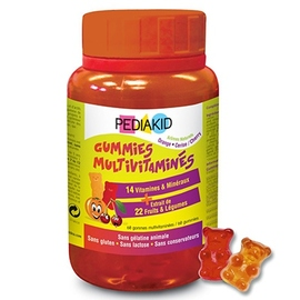 Gummies multivitaminés - pediakid -203651