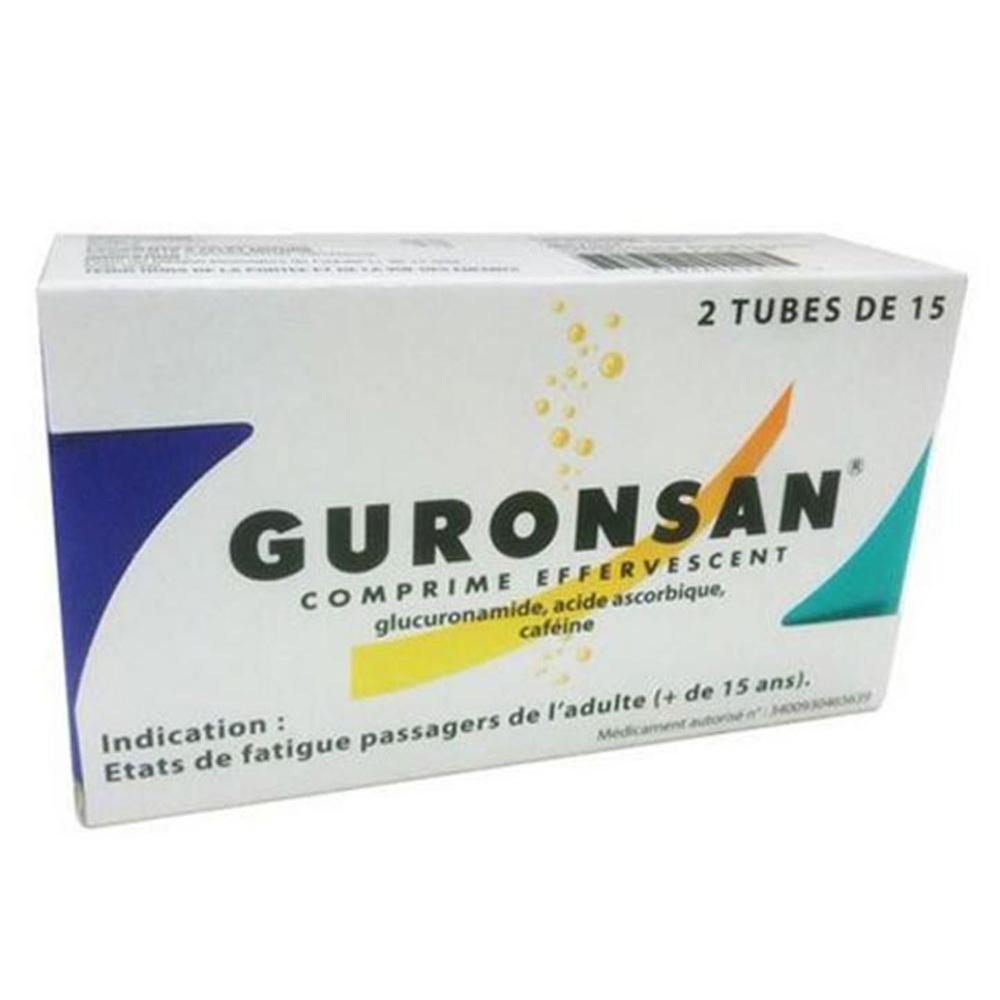 Guronsan - 30 comprimés effervescents - msd -193043