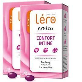 Gynelys confort intime 2x20 capsules - lero -226690