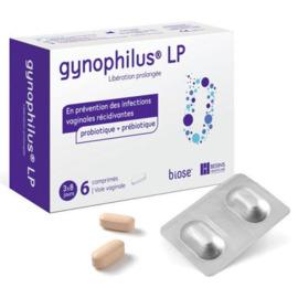 Gynophilus cp - 6 comprimés vaginaux - besins healthcare -191390