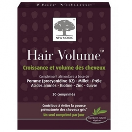 Hair volume - 30 comprimés - new nordic -159384