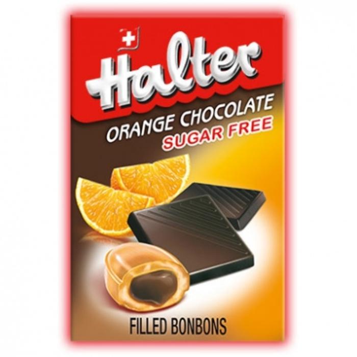 Halter bonbons orange chocolat sans sucre Halter-203931