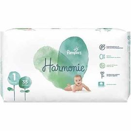 Harmonie taille 1 pour 2-5 kg 35 couches - 35.0 u - pampers -225248