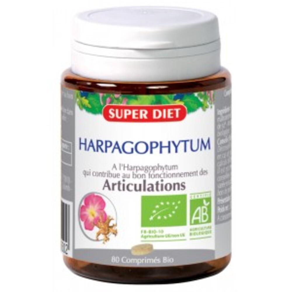 Harpagophytum bio - 80.0 unites - articulation - super diet Articulation-4488