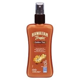 Hawaiian tropic golden tint spray spf15 - hawaiian tropic -202740