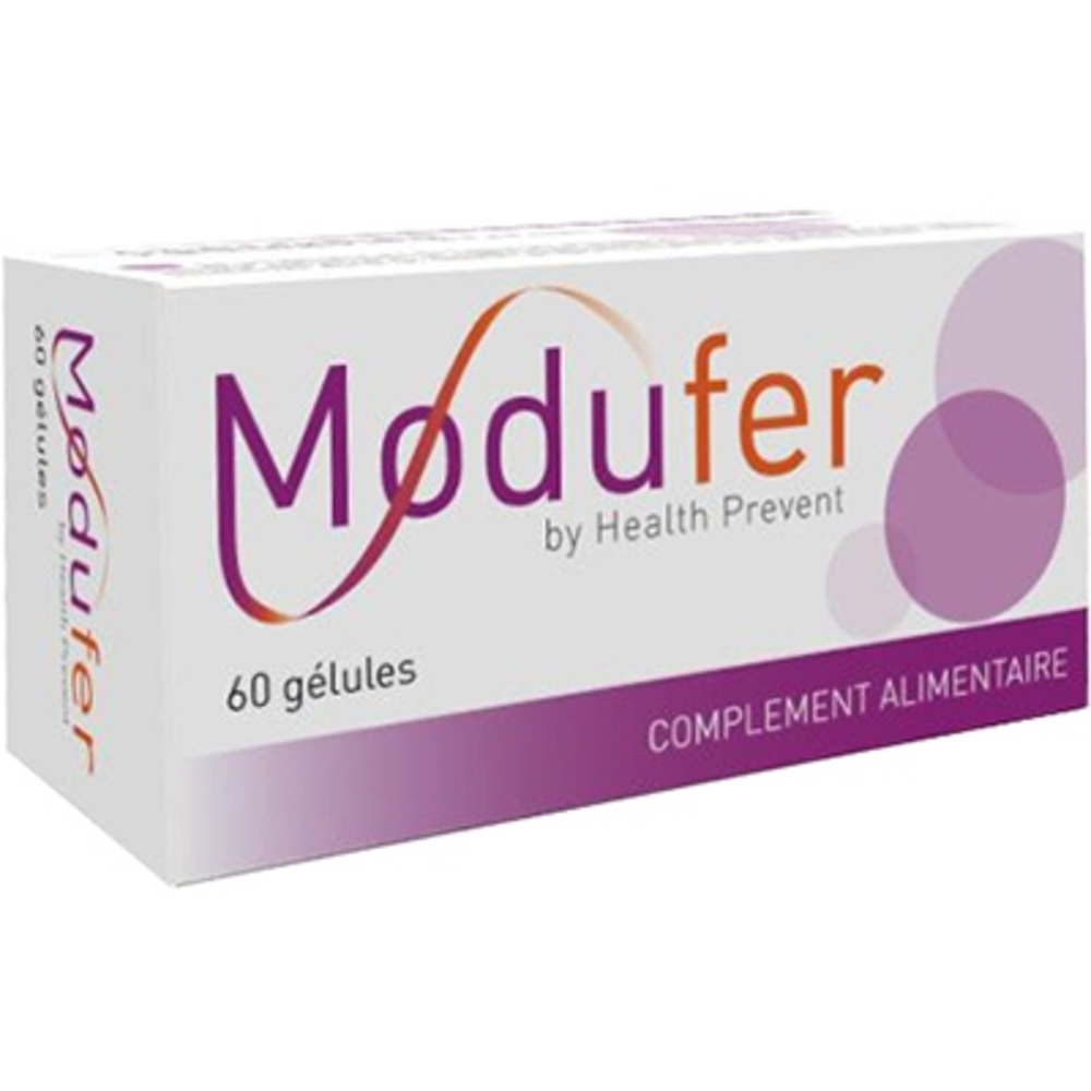 Health prevent modufer - 60 gélules - health prevent -205821