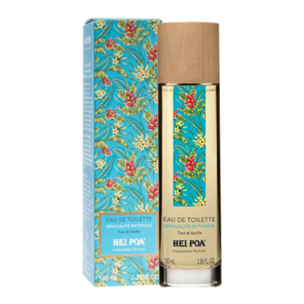Hei poa eau de toilette sensualité exotique tiaré & pitaya 100ml - hei poa -221212