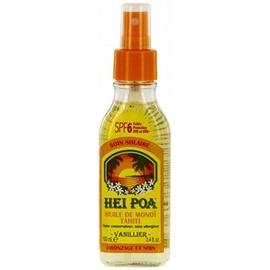 Hei poa huile de monoï tahiti spf6 - vanillier - hei poa -199156