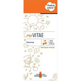 Herbaethic p'tit vitae goût pomme/fruits rouges 150ml - herbaethic -221519