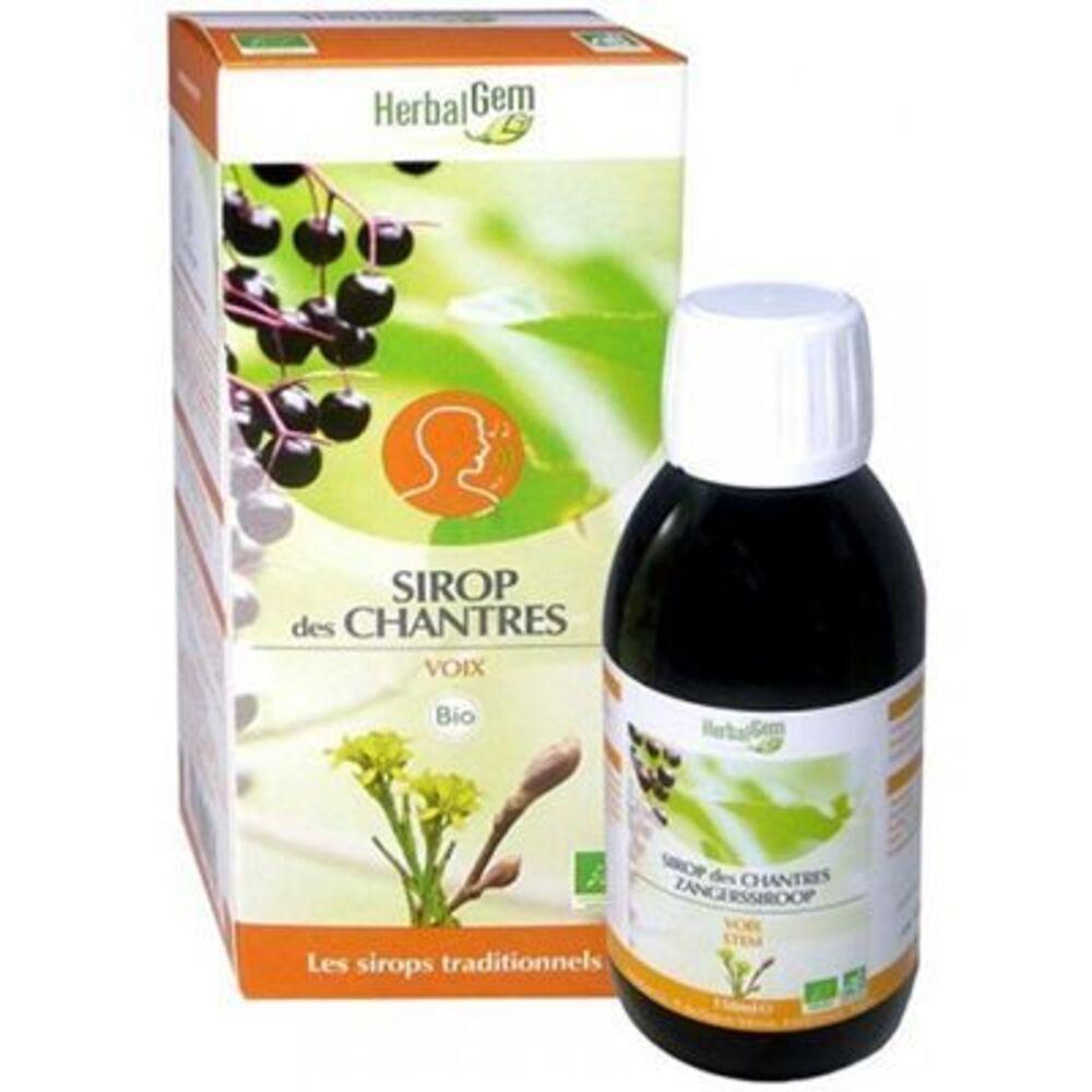 Herbalgem sirop des chantres bio 150 ml - herbalgem -221013