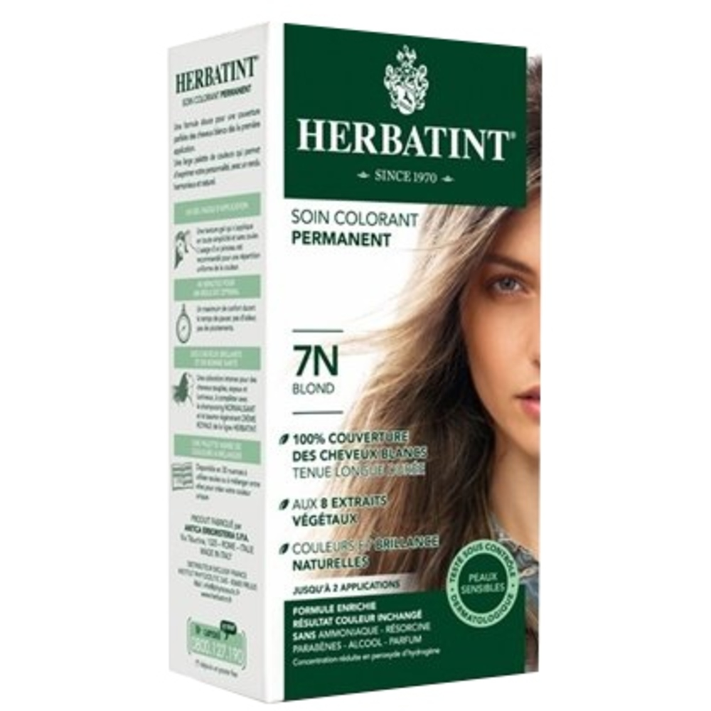 Herbatint coloration blond 7n - 120.0 ml - gel colorant - herbatint -5769